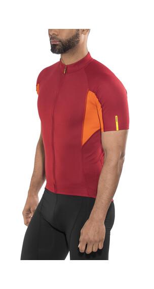 Mavic Aksium Fietsshirt korte mouwen Heren oranje/rood